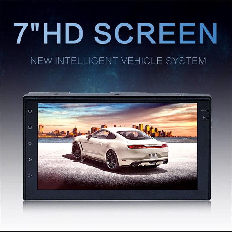 7 2-Din 4-Core Сенсорный Экран Smart Android 6,0 MP5 плеер Bluetooth HD видео 16 ГБ gps /USB/WI-FI/BT/TFT с Google Map XNC