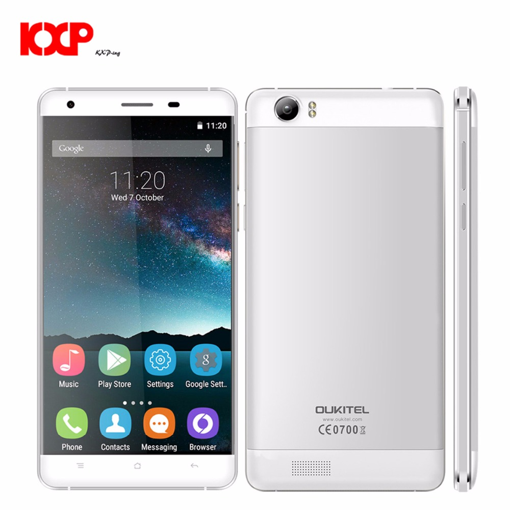 OUKITEL K6000 4G Phablet 5,5 zoll Android 5.1 MTK6735 64bit Quad Core 1,0 GHz 2 GB RAM 16 GB ROM 13.0MP + 5.0MP OTG