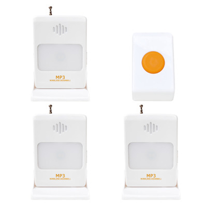 Wireless Split Infrared Doorbell Welcomeor 360 Degree Sensor Access Welcome To Rechargeable Bell Level 8 Volume Can Be AdjustedWireless Split Infrared Doorbell Welcomeor 360 Degree Sensor Access Welcome To Rechargeable Bell Level 8 Volume Can Be Adjusted