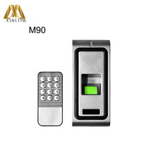 Single door access control system fingerprint and smart card access control system access control reader M90