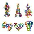 Magnético 88 pcs 3d mais kit brinquedo enlighten building block diy brinquedos para as crianças do presente do miúdo do bebê designer de tijolos