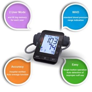 Image 3 - Auto Digital Upper Arm Blood Pressure Monitor Large Cuff Heart Beat Meter Machine Home BP  Health Care Antarestec PH20
