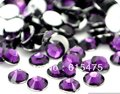 3mm Amethyst Color SS10 crystal Resin rhinestones flatback,Nail Art Rhinestones,100,000pcs/bag