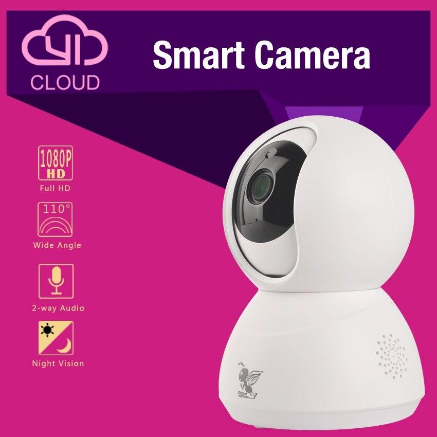 все цены на HD 720P 1080P PTZ IP C amera indoor CCTV smart camera for Home Security System MAX. Support 64GB TF card wireless camera wifi онлайн