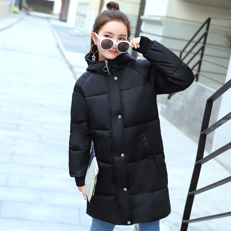2017 soft girl winter women thick jacket in the long paragraph Korean version of the down jacket cotton jacket yagenz 2017 new soft sister winter coat korean version of the long paragraph down jacket cotton winter thick loose cotton