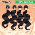 5A Jet Black Brazilian Body Wave 4 Bundle Deals Mink Brazilian Virgin Hair Body Wave Soft Brazilian Human Hair Weave Bundles