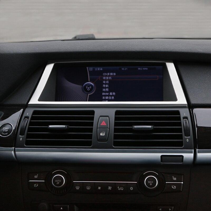 2013 Bmw X6 Interior: Chrome Plate Stainless Steel Interior Car GPS Dashboard