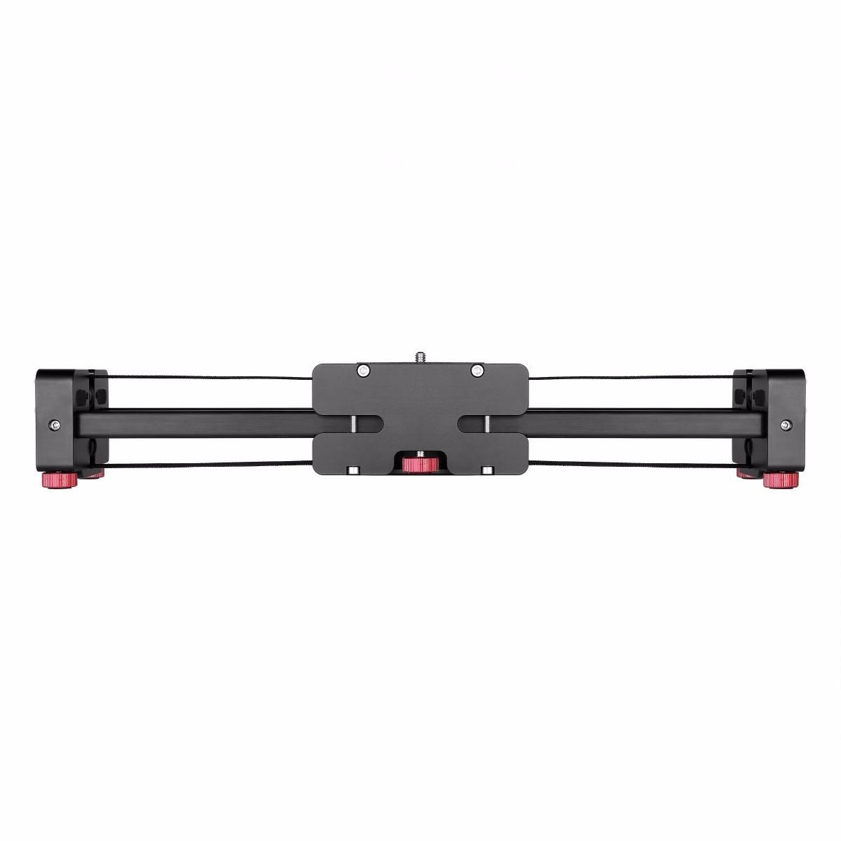 bilder für 52 cm Versenkbare Kamera Video Dolly Schiene Stabilisator für Canon Nikon Sony Camcorder Tatsächlichen Schiebe Abstand 104 cm