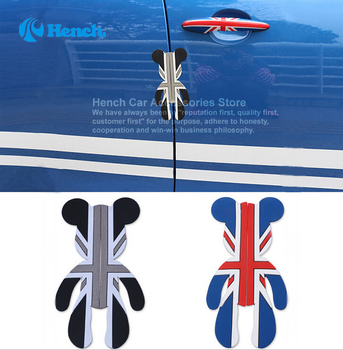 2018 Car Styling Car Door Protector Trims Stickers Door Side Edge Protection Guards For Violent Bear decal Universal Automobiles 4