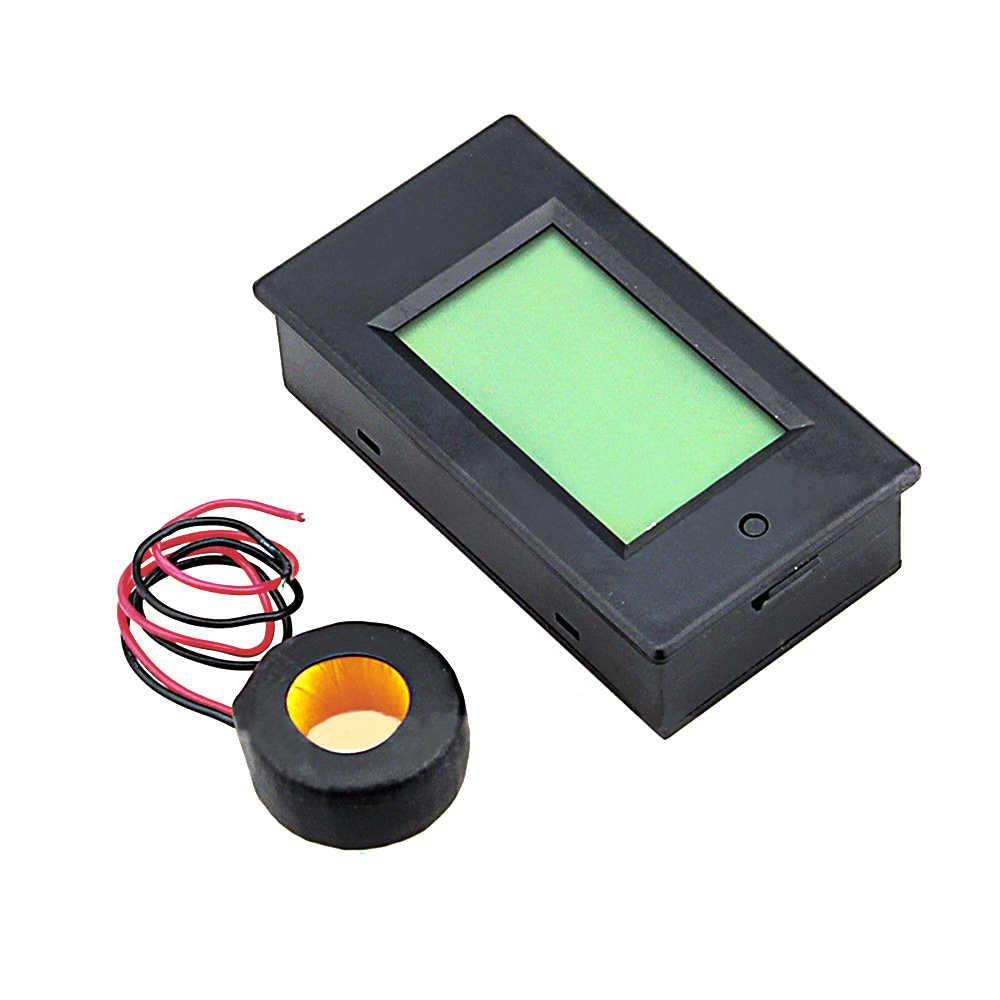 4 trong 1 Bảng Điều Khiển MÀN HÌNH LCD Kỹ Thuật Số Khuếch AC 260V 100A Panel AMP Volt Hiện Nay Máy Đo Kiểm Tra với Hiện Tại biến áp CT