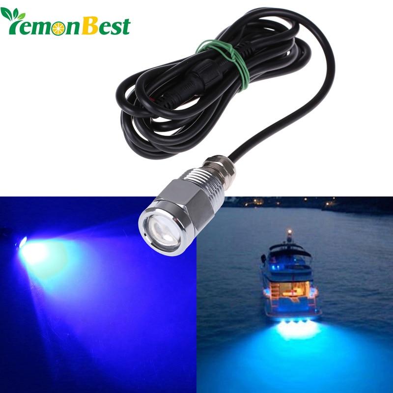 6 LED Onderwater Verlichting voor Boten met connector 9 W ...