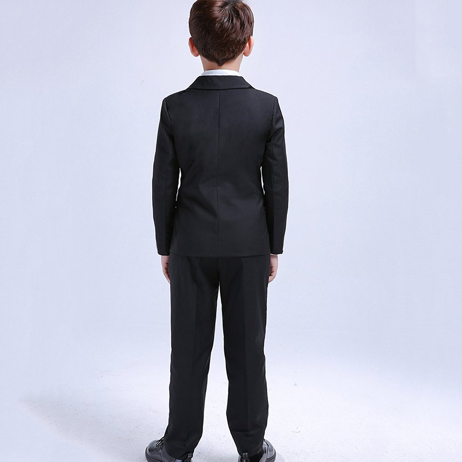 35bf41b1d0da 7 Pcs Classic Boys Suits for Weddings Formal Blazer Kids Tuxedo ...