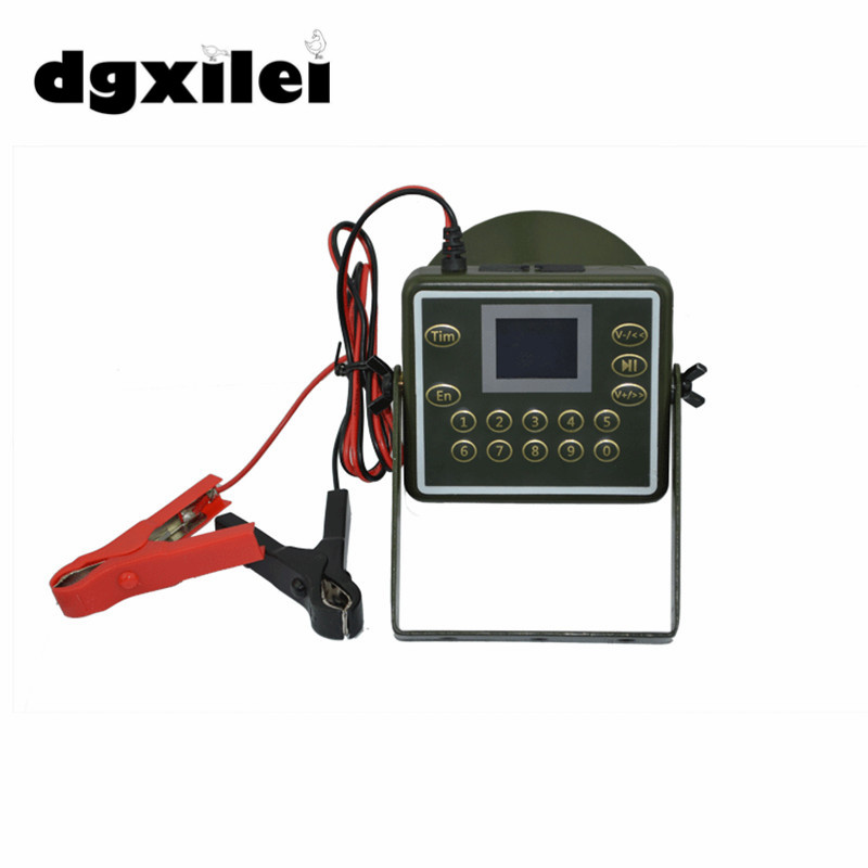 2017 New Outdoor Hunting Birds Caller Hunting mp3 Player 60W Loud Speaker Decoy Built-in 300 Sounds 160dB Bird Sounds