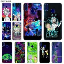 Fashion luxury Phone cose cover for Huawei Honor 10i 8 8X 9X 10 Lite 4C 5X 6 6X 6C 7a 20 Pro 7X rick and morty(China)