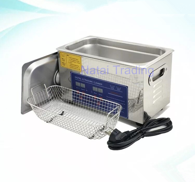 ultrasonic cleaner stainless steel 120W 3L diesel injector cleaning machine for Bosch Denso Delphi injector repair tool