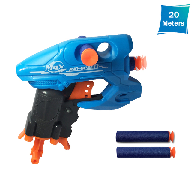 Nerf Style Action BIGSHOCK Toy Gun Soft Bullet Gun Shooting 10-20 Meters  Children's Birthday