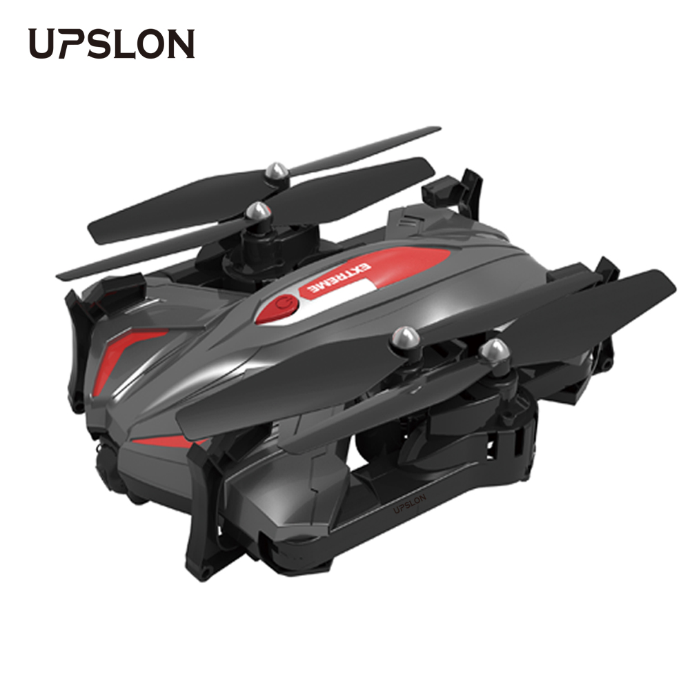 UPSLON 110 Foldable RC Drone Quadcopter Quadrocopter Dron One Key Return 2.4G 6-Axis Gyro Altitude Hold APP Control FPV 720P Cam q929 mini drone headless mode ddrones 6 axis gyro quadrocopter 2 4ghz 4ch dron one key return rc helicopter aircraft toys