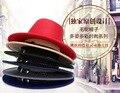 Hombres de la moda de Las Mujeres Sentían Trilby Cap Ala Ancha Sombrero Sombrilla Viajes Al Aire Libre
