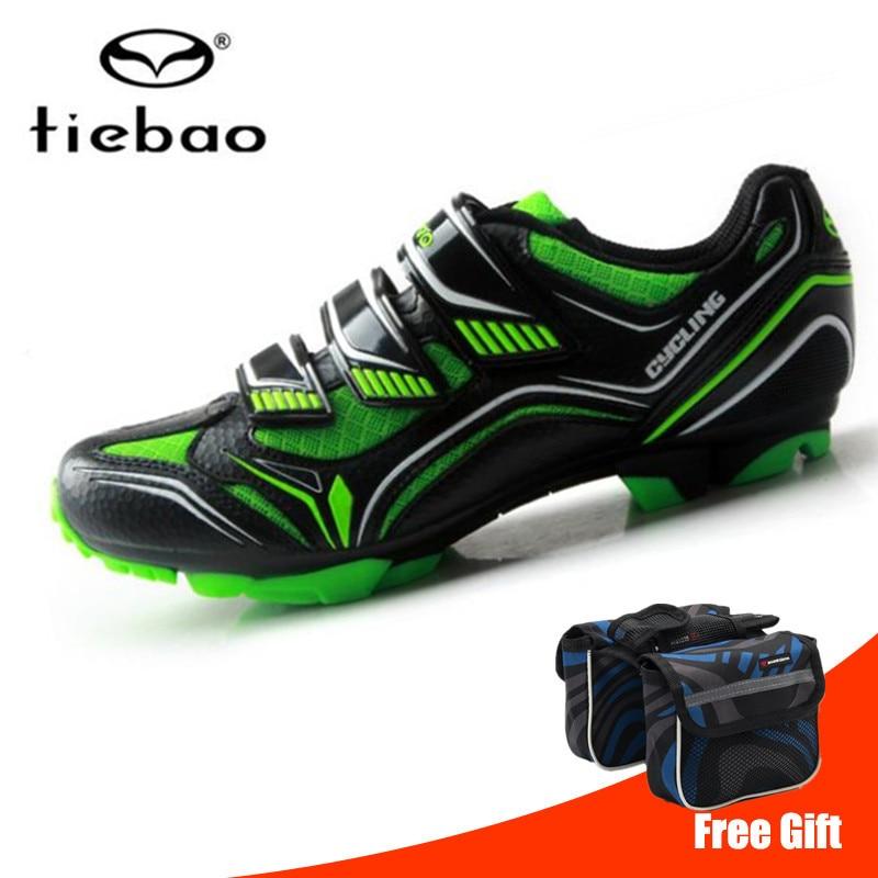 Tiebao Professional Cycling Shoes Men sneakers Women Bicycle Mtb Shoes Self Locking Mountain Bike Shoes Sapatilha