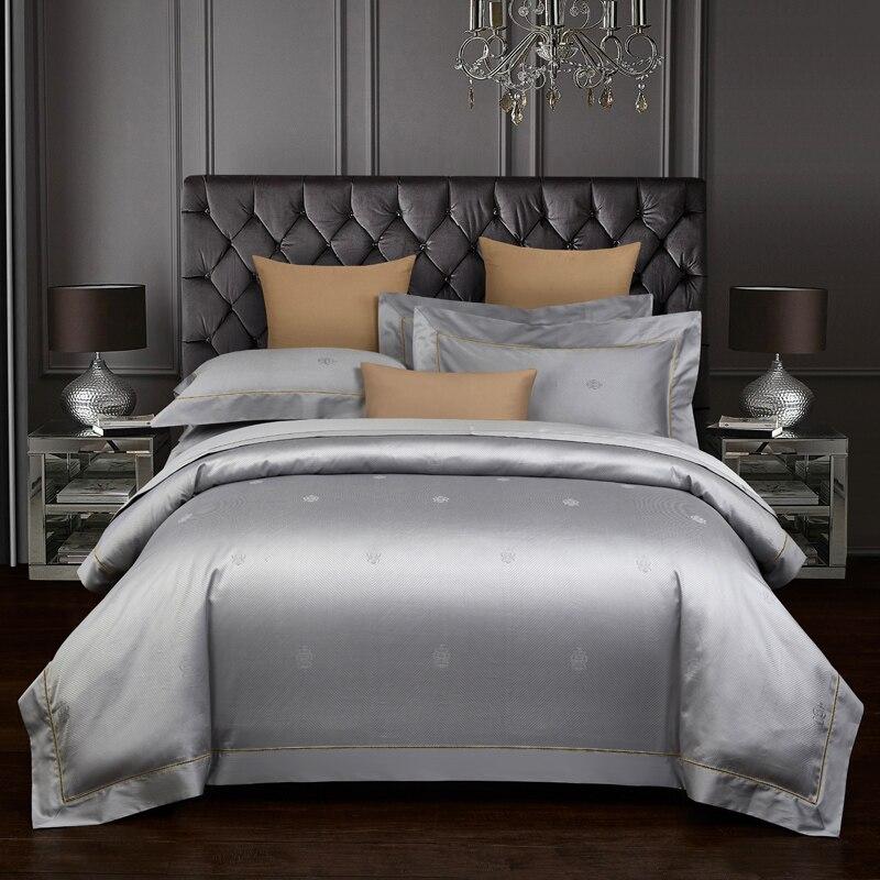 Luxury Bedding set king queen size Bedingset 800TC Egyptian cotton Bed set Bedsheet Duvet cover pillowcases
