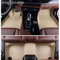 CHOWTOTO AA Custom Special Floor Mats For Benz GLE 400 Waterproof Rugs Carpets For GLE400 Foot Mat