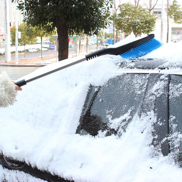 AUTO car-styling 3 in 1 Ice Shovel Snowbrush Car Hand Tool Shovel Emergency Scraper Removal Snow Clean OC 13