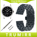 20mm 22mm Quick Release Watch Band for Tissot 1853 T035 T097 Stainless Steel Strap Wrist Belt Bracelet Black Silver + Tool + Pin