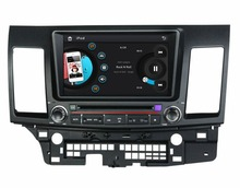 HD 2 din 8″ Car DVD Player for Mitsubishi LANCER 2006-2012 With GPS Bluetooth IPOD TV Radio /RDS SWC AUX IN USB