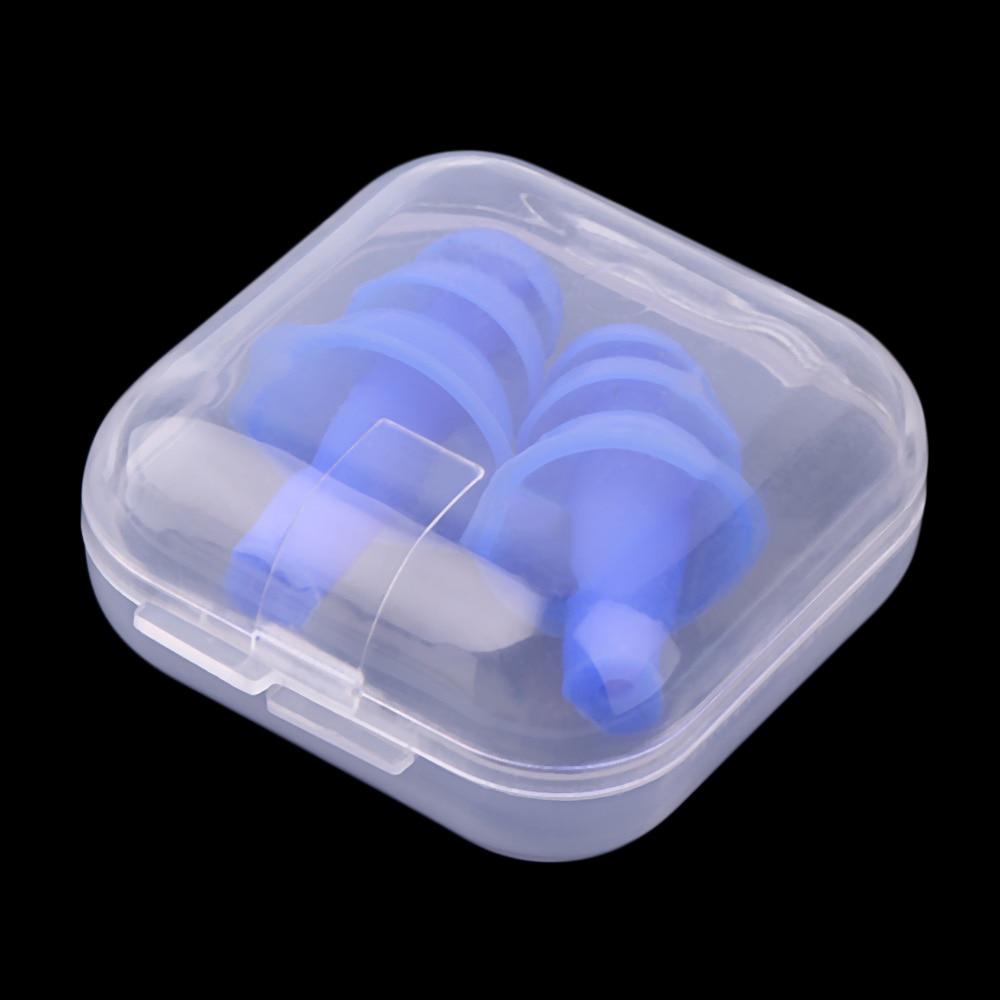 Hot Soft Foam Ear Plugs Sound Insulation Ear Protection Earplugs Anti-noise Sleeping Plugs For Travel Foam Soft Noise Reduction
