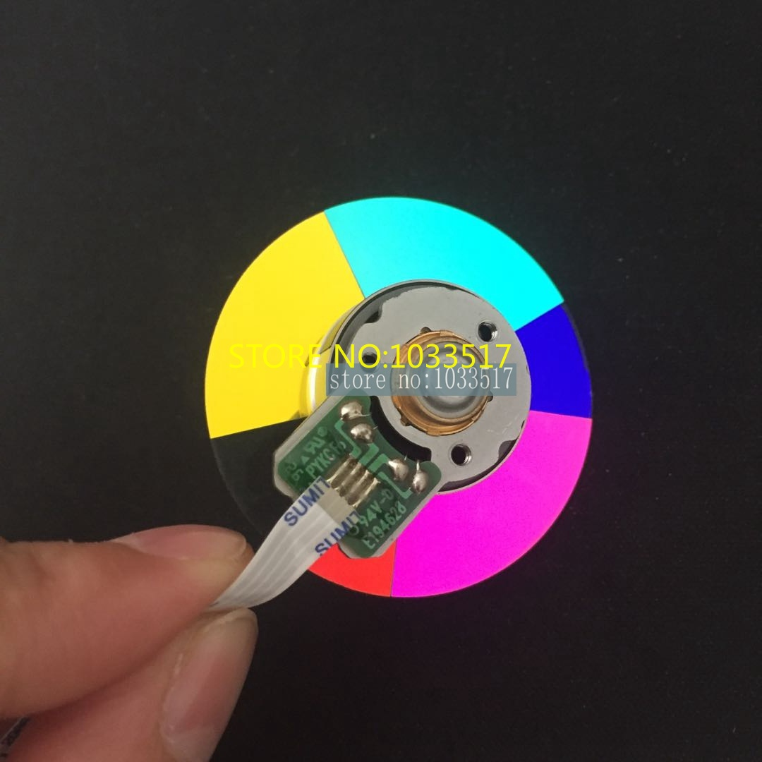 Wholesale brand new projector color wheel for Acer P1120 P1220 D411D X 1320WHWholesale brand new projector color wheel for Acer P1120 P1220 D411D X 1320WH