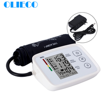 Olieco medidor de pressão sanguínea, monitor automático para braço, medidor de pressão sanguínea bp, tonômetro, monitor de cuidados de saúde familiar