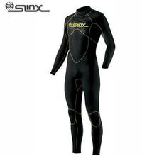 SLINX DISCOVER 1106 5mm Neoprene Men Fleece Lining Warm Wetsuit Swimming Snorkeling Triathlon Spearfishing Scuba Diving