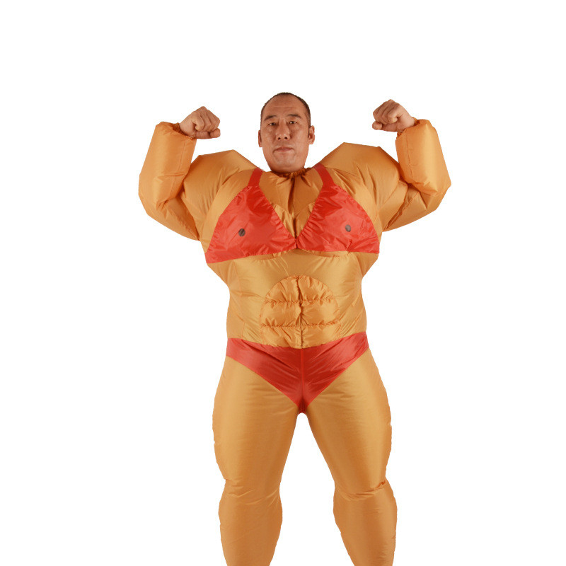 Adult Lovely Carnival Halloween Costumes For Men Inflatable Muscle Man Superhero  Costume Giant Man Cosplay Clothing Party Dress In Boys Costumes From ...