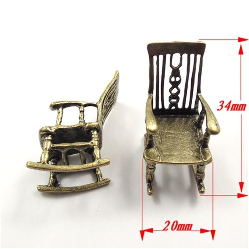 Online Shop 5PCS/Pack Wholesale Antique Style Bronze Tone Alloy Jewelry  Accessories Rocking Chair Charms Necklace Pendant 34*20*20mm 31846    Aliexpress ...