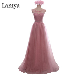 Lamya crystal lace long prom dress for party elegant a line special occasion sleeveless floor length.jpg 250x250