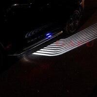 white car For Nissan Qashqai j11 Car Angel Wings LED Welcome Lights Car Door Courtesy Projector Light 12V White/Blue 2017 2018 (4)