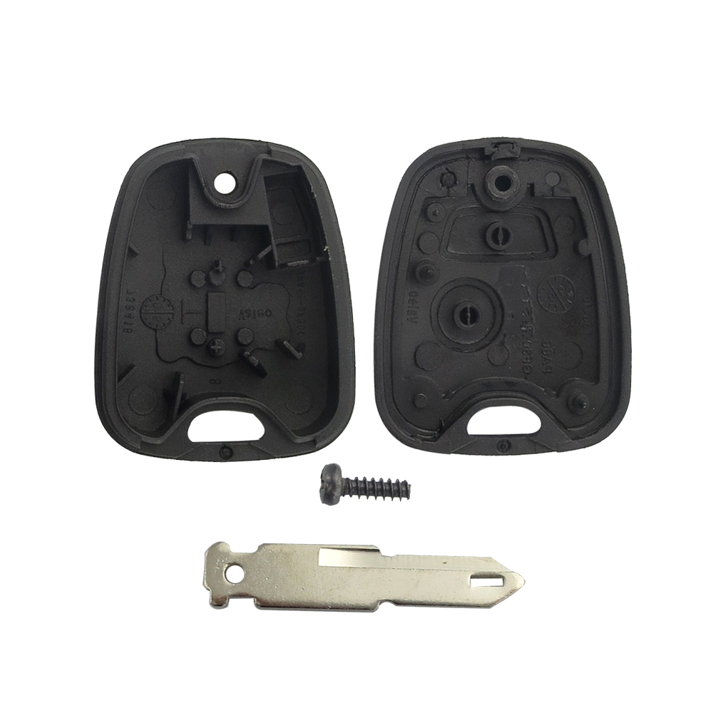 Image 5 - OkeyTech for Peugeot 106 206 306 406 Key Shell 2 Button NE73 Blade Replacement Remote Control Car Cover Case with 2 Micro Switch-in Car Key from Automobiles & Motorcycles