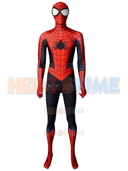 Spider Man Costume Steve Ditko Version Classic Spiderman Costume 3D Printed Spandex Zentai Cospaly Costume For