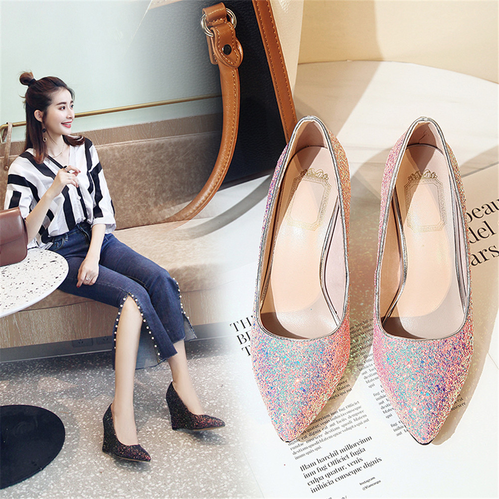 JOUIR TALONS 2019 New Arrival Women Casual Sandals Pointed Toe High Heels Party Female Pumps 3Colors For LadiesJOUIR TALONS 2019 New Arrival Women Casual Sandals Pointed Toe High Heels Party Female Pumps 3Colors For Ladies