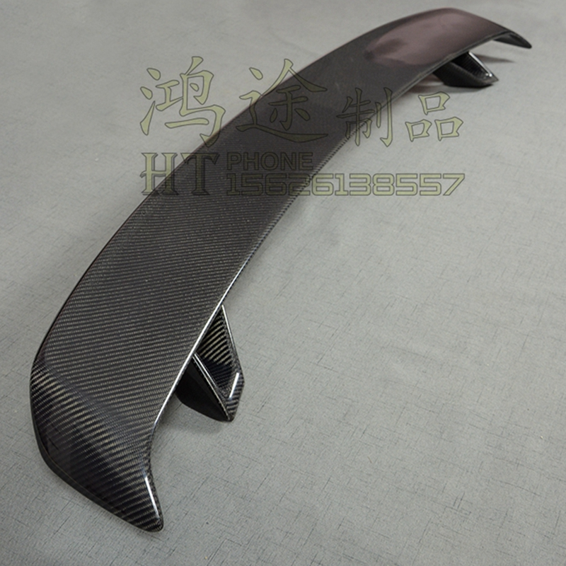 Carbon Fiber Universal Style Rear Trunk Wing Spoiler for Audi A3 S3 A4 A5 A6 A7 TT Tail Boot Lip Wing Spoiler carbon fiber auto car rear trunk wing lip spoiler for audi for a3
