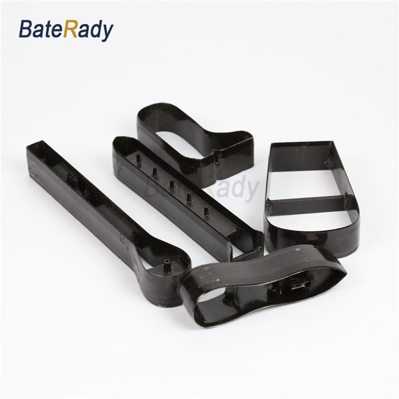 32mm Dostosowane kształt skóry laser punch die, buty / ubrania / skóra torba materiał wyciąć die, BateRpak DIY skóra laserowa nóż die