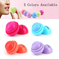 1pcs Round Candy Color Moisturizing Lip Ball Balm Natural Plant Sphere Lip Gloss Lipstick Lip Smacker Protetor Labial
