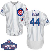MLB Men S Chicago Cubs Anthony Rizzo Home White 2016 World Series Champions Flex Base Authentic