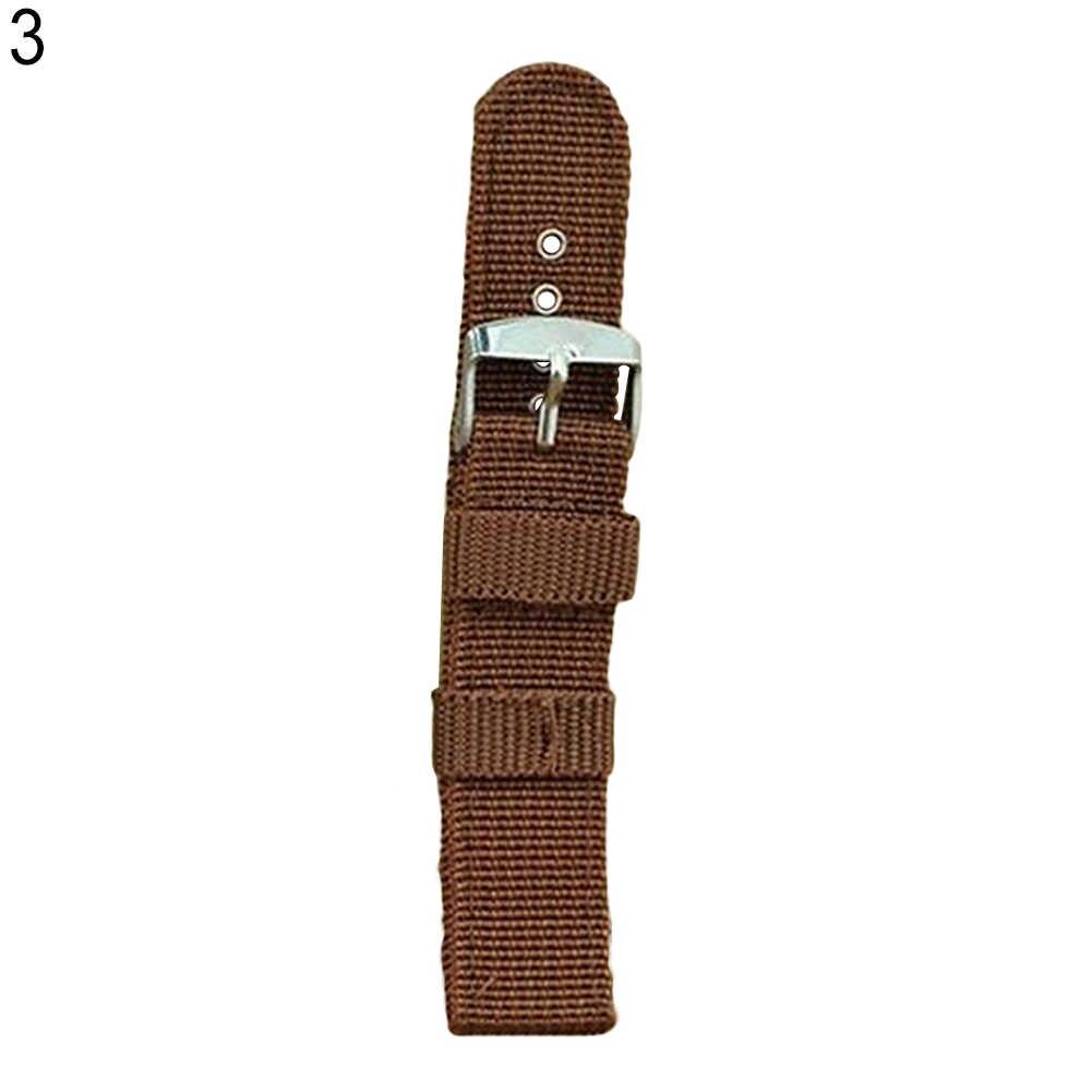 العسكرية الجيش النايلون ساعة معصم الفرقة 18 مللي متر 20 مللي متر 22 مللي متر 24 مللي متر استبدال حزام دروبشيبينغ