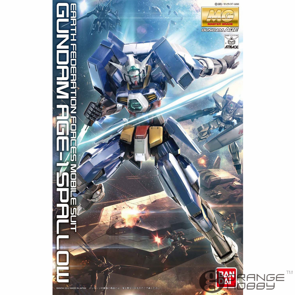 OHS Bandai MG 156 1/100 Gundam AGE-1 Spallow Mobile Suit Assembly Model Kits ohs bandai mg 185 1 100 ppgn 001 gundam exia dark matter mobile suit assembly model kits
