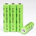 10 pcs Neutral AAA bateria baterias recarregáveis 1.2 V NI-MH AAA Bateria Recarregável para câmera de Brinquedo De Controle Remoto Frete Grátis