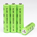 10 unids Neutral AAA batería recargable de baterías de 1.2 V AAA NI-MH Batería Recargable para cámara de Juguete de Control Remoto Envío Gratis