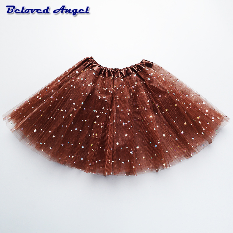 Fluffy Chiffon Tulle tutu skirt colorful cheap girl skirt dance skirt Baby Girl Clothes kids Clothing Birthday Gift Party Wear 3