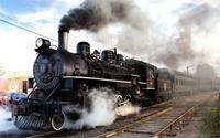 Silnik lokomotywy parowe steam train pojazdów koła pojazdów śledzić dymu stare retro 4 Rozmiary Home Decoration Plakat Na Płótnie