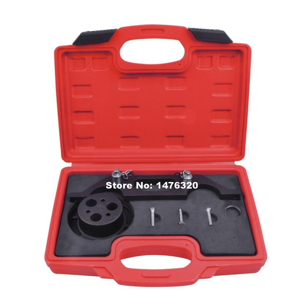 5PCS Automotive Engine Timing Belt Camshaft Locking Alignment Tool Set For GM OPEL AT2135 camshaft pulley wrench holder for subaru forester 3pcs set engine timing belt remove and install repair toolkit